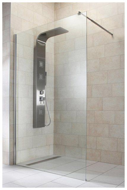Duschen und Zubehör - welltime Duschwand »Duschabtrennung«, Sicherheitsglas, Breite 120 cm  - Onlineshop OTTO