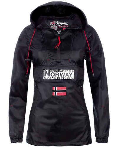 Geographical Norway Outdoorjacke »Geographical Norway badowncity Damen Windbreaker« (1-St) Outdoor Regular Fit Windbreaker Jacke