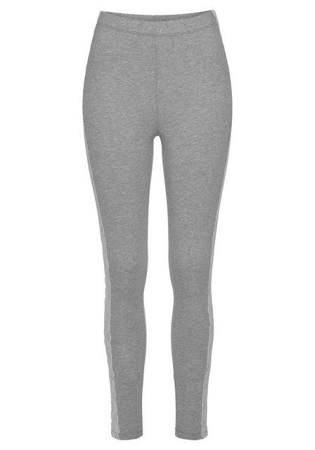 Hosen - Boysen's 7 8 Leggings Mit dekorativem Spitzen Detail ›  - Onlineshop OTTO