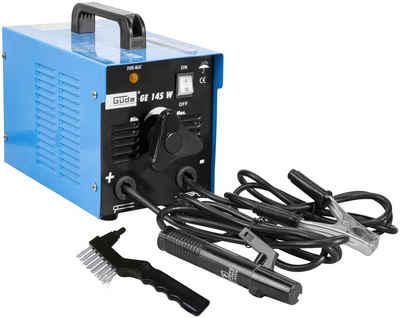 Güde Elektroschweißgerät »GE 145 W«, 40 - 100 A, Absicherung, träge 16 A, max. Netzleistung 5 kVA