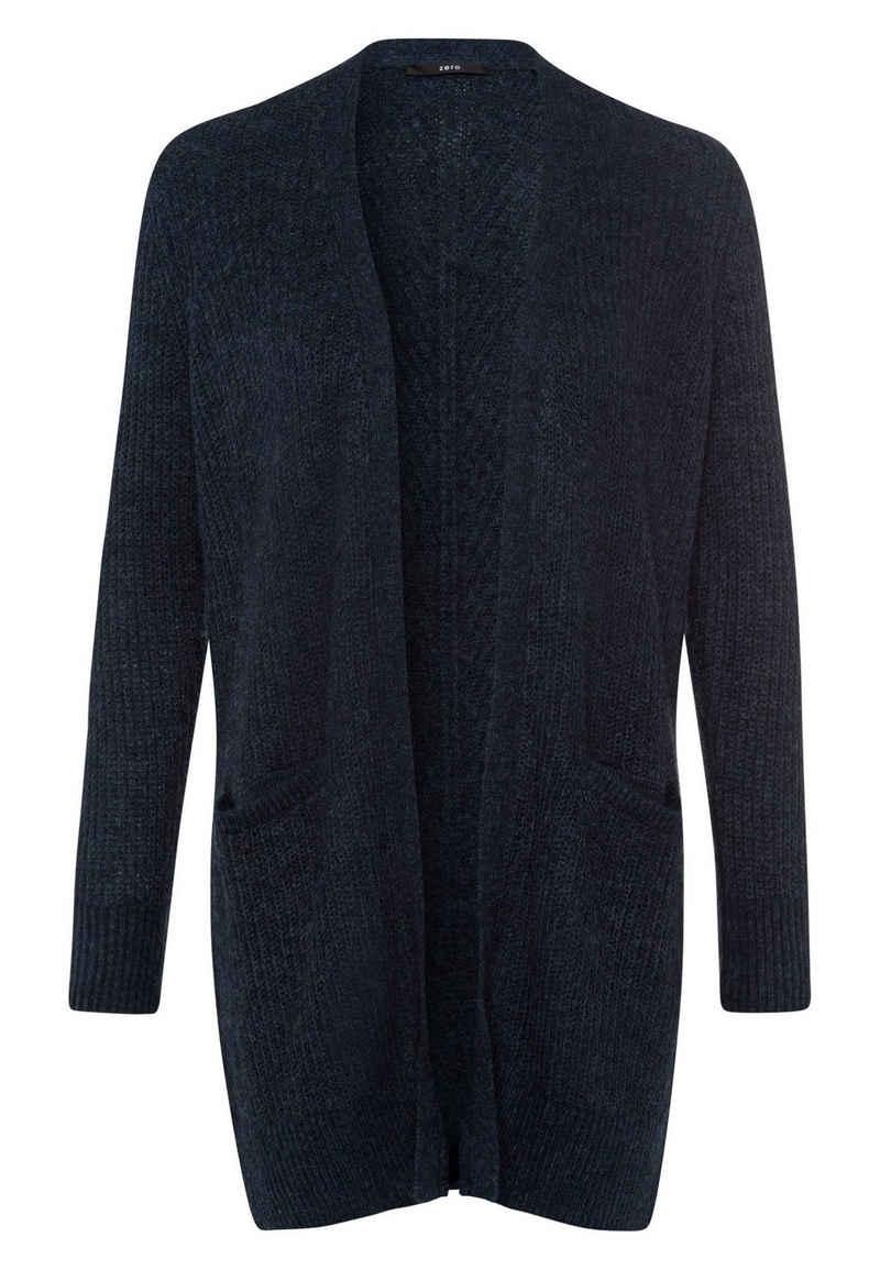 Zero Strickjacke »Long Style« Plain/ohne Details