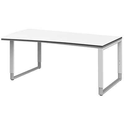 röhr Schreibtisch »Objekt Plus«, Freiform, links breiter, 2 farbige Kanten