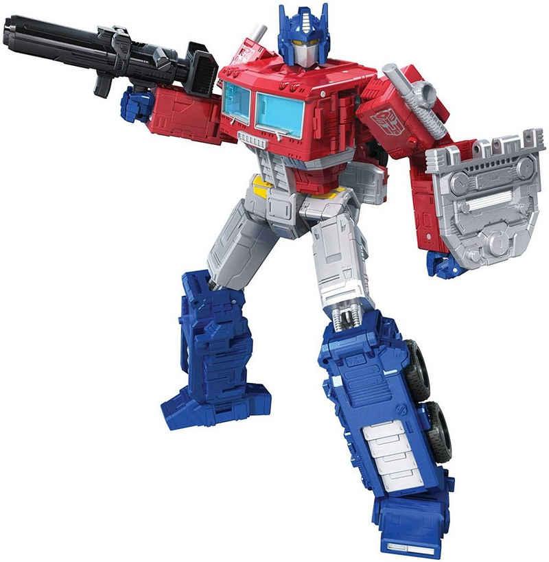 Hasbro Actionfigur »Transformers Kingdom - War for Cybertron Trilogy - OPTIMUS PRIME - Leader Class WFC-K11«