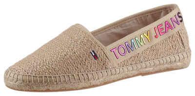 Tommy Jeans »RAINBOW BRANDING ESPADRILLE« Espadrille mit buntem Logoschriftzug