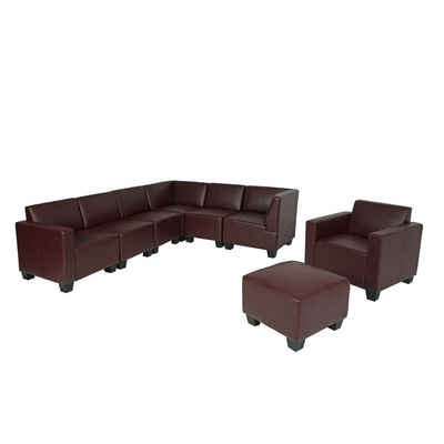 MCW Wohnlandschaft »Moncalieri-6-1-1«, Hochwertige Verarbeitung, Bequeme Polsterung, Maximale Belastbarkeit pro Sitzplatz: 120 kg