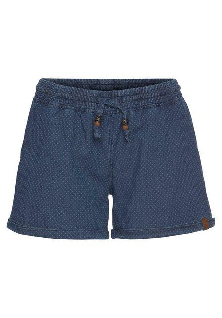 Hosen - Alife Kickin Jeansshorts »JaneAK« kurze Hose mit Zierperlen › blau  - Onlineshop OTTO