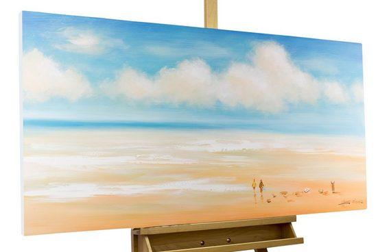 KUNSTLOFT Gemälde »Melodie der Meere«, handgemaltes Bild auf Leinwand