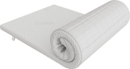 Topper »Roll'n'Sleep«, Schlaraffia, 6 cm hoch, Raumgewicht: 45, Gelschaum, mit dem besonderen GELTEX® -Schaum