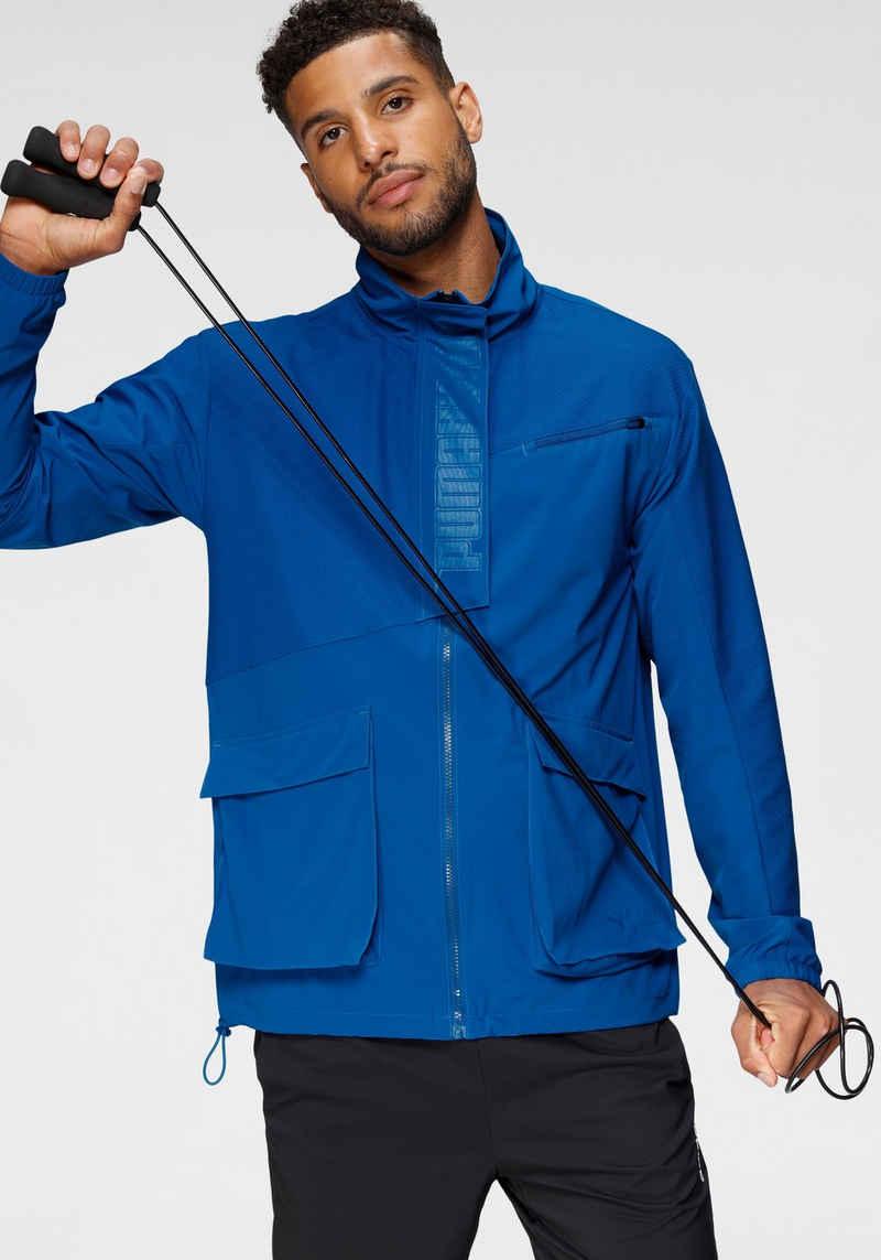 PUMA Trainingsjacke »Train First Mile Mono Jacket«