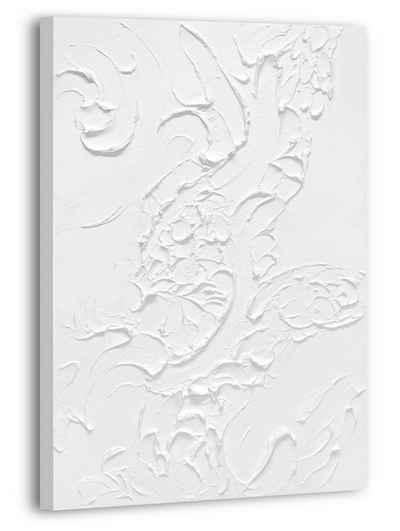"YS-Art Gemälde »Handgemaltes Acryl Gemälde auf Leinwand ""Lebensfroh VI"" 120 × 80cm«"