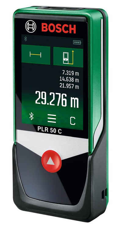BOSCH Entfernungsmesser »PLR 50 C«, Messbereich: 50m