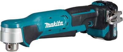 Makita Akku-Winkelbohrmaschine »DA332DSYJ«, max. 1100 U/min, inkl. 2 Akkus, Ladegerät & Koffer