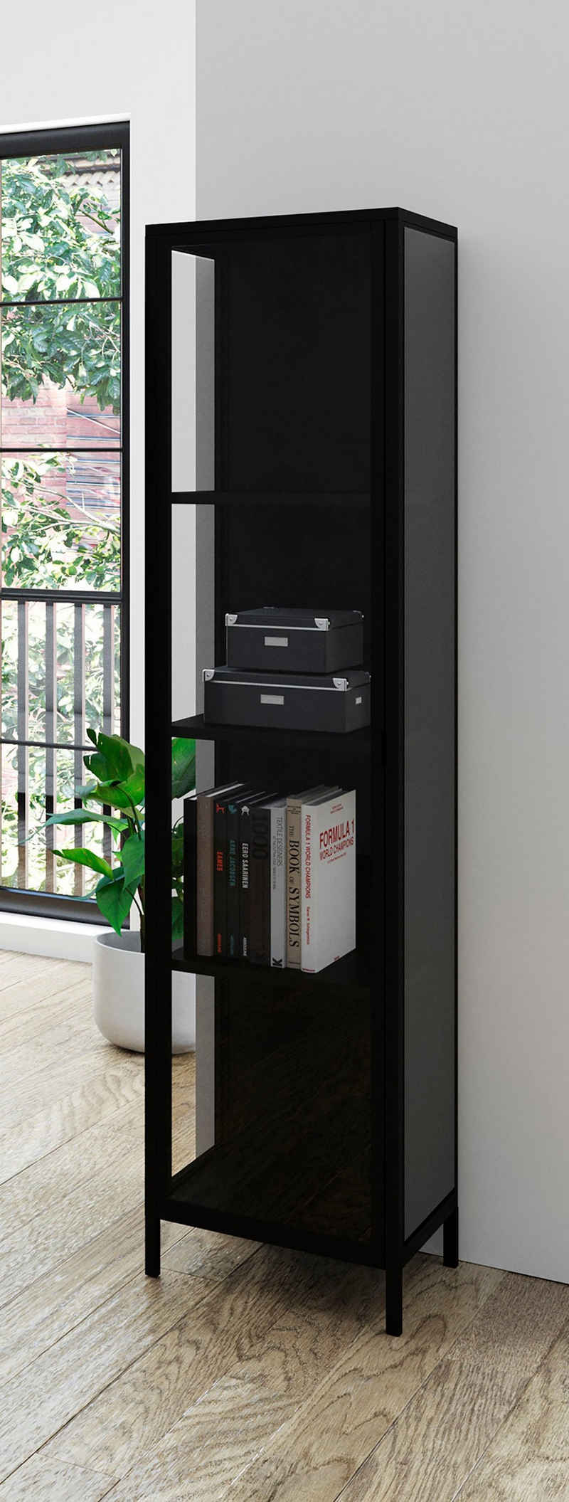 Homexperts Vitrine »Classic« designorientierte Vitrine mit Glastür