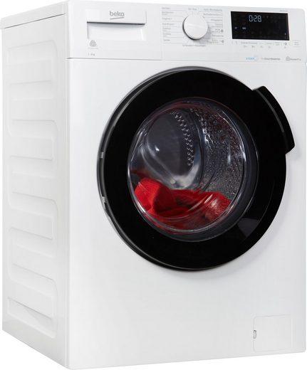 BEKO Waschmaschine WMC91464ST, 9 kg, 1400 U/Min