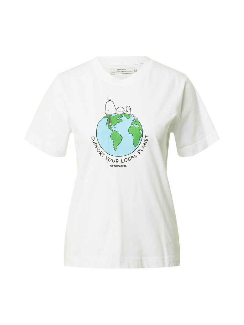 DEDICATED T-Shirt »Mysen Snoopy Earth« (1-tlg)