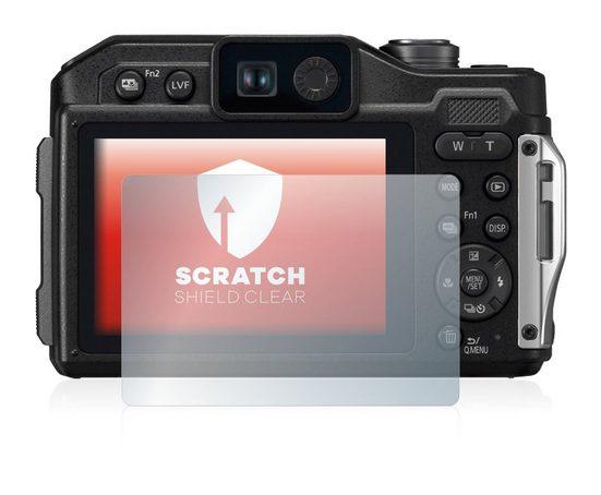 upscreen Schutzfolie »für Panasonic Lumix DC-FT7«, Folie Schutzfolie klar anti-scratch