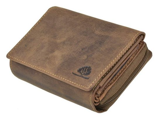 Greenburry Geldbörse »Vintage RFID«, Damenbörse, Lederbörse, Portemonnaie