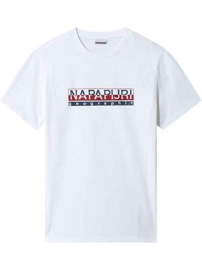 Napapijri T-Shirt »SERIS« (1-tlg) aus 100% Baumwolle