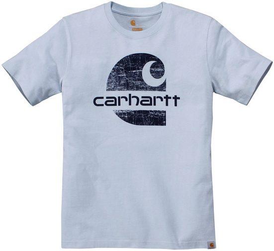 Carhartt T-Shirt »WORKWEAR PREMIUM S/S T-SHIRT« Kurzarm, bedruckt