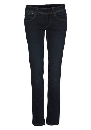 Pepe Jeans Straight-Jeans »SATURN« mit doppelter Gesäßtasche