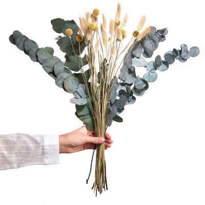 Kunstpflanze »FLOWER MARKET Trockenblumen Blumenstrauß«, BUTLERS