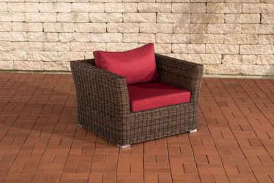 CLP Gartensessel »Mandal 5mm«, Mit Sitz- und Rückenkissen