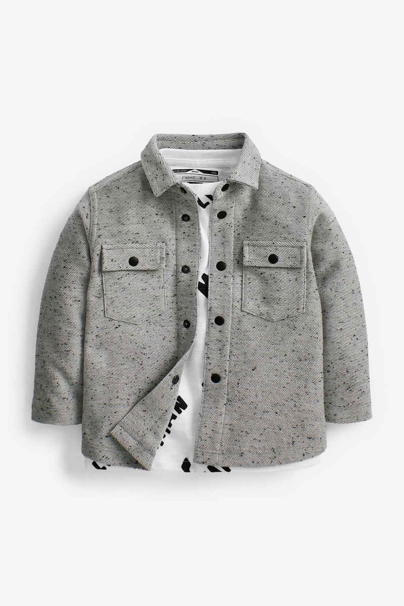 Next Poloshirt »Set aus Hemd und T-Shirt« (2-tlg)