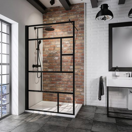 SCHULTE Walk-In Dusche »Alexa Style 2.0«, Breite 120 cm