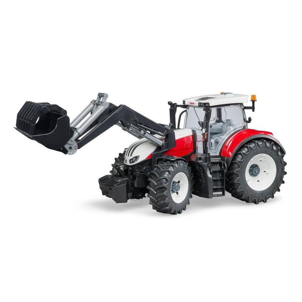 bruder® spielzeugtraktor »steyr 6300 terrus cvt mit