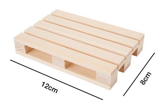 stafil Dekoobjekt »Miniatur Holzpalette«, unbehandelt