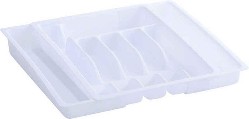 Zeller Present Besteckkasten (1 Stück), ausziehbar