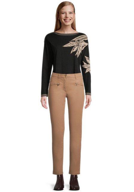 Hosen - Betty Barclay Röhrenhose mit Reißverschlüssen › braun  - Onlineshop OTTO