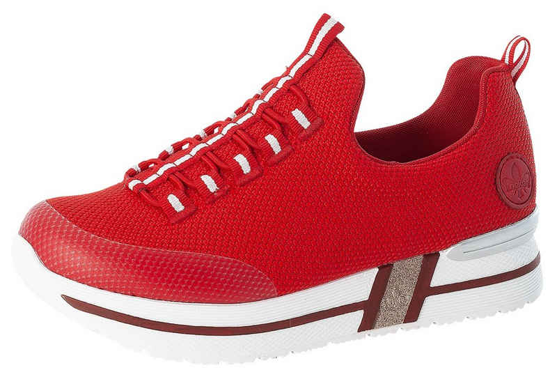 Rieker Slip-On Sneaker mit praktischem Gummizug