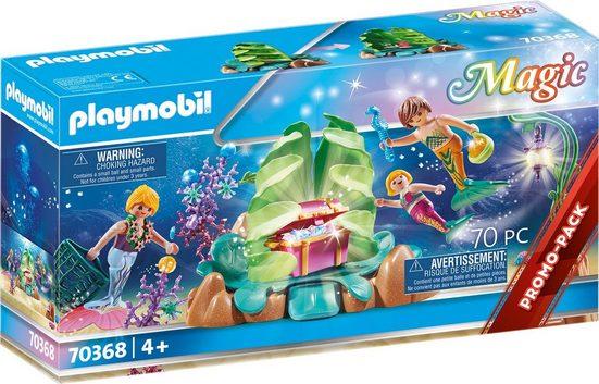 Playmobil® Konstruktions-Spielset »Korallen-Lounge der Meerjungfrauen (70368), Magic«, ; Made in Germany