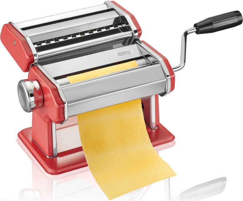 GEFU Nudelmaschine PASTA PERFETTA, Metall, für Tagliolini, Tagliatelle, Lasagne