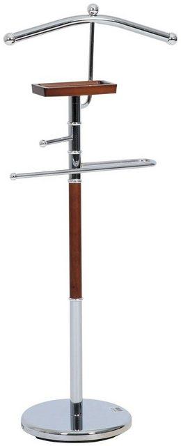 Kleiderständer und Garderobenständer - AXENTIA Herrendiener »Godiva«, mit Holz, 108 cm  - Onlineshop OTTO