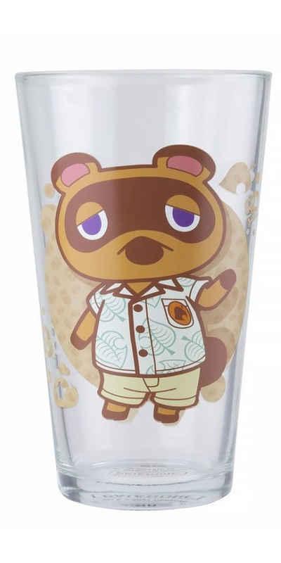 Paladone Glas »Animal Crossing Glas«, Glas