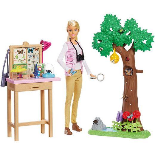 Mattel® Anziehpuppe »Barbie Insektenforscherin Puppe und Spielset«
