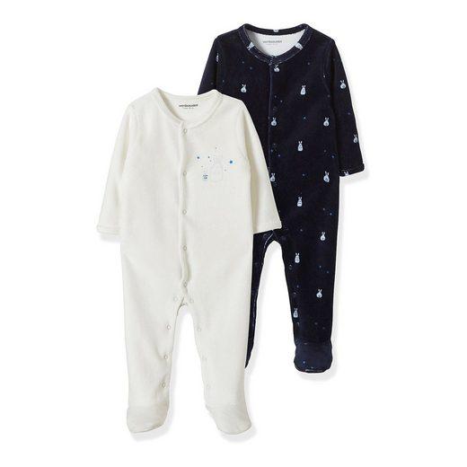 vertbaudet Baby Schlafanzug für Jungen, Doppelpack