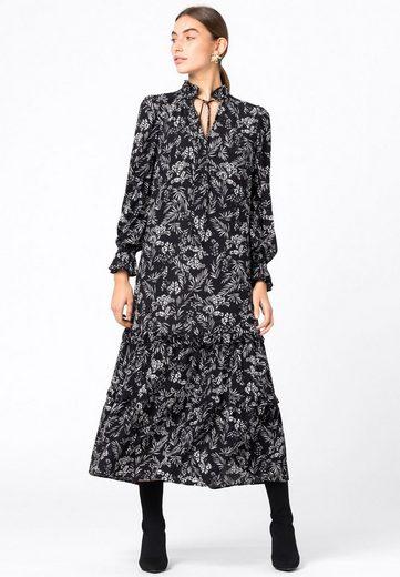 HALLHUBER A-Linien-Kleid »mit Gräserprint«