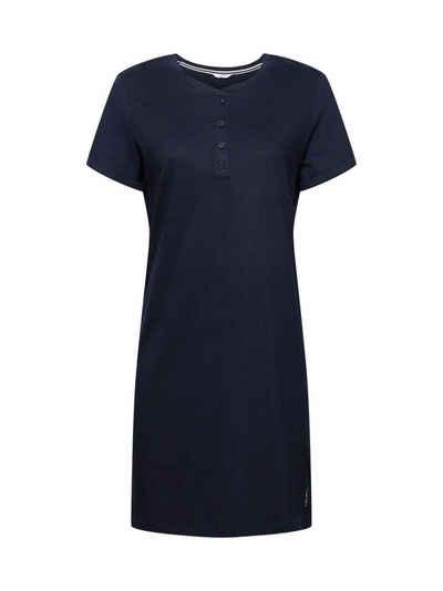 Esprit Nachthemd »Jersey-Nachthemd aus 100% Bio-Baumwolle«