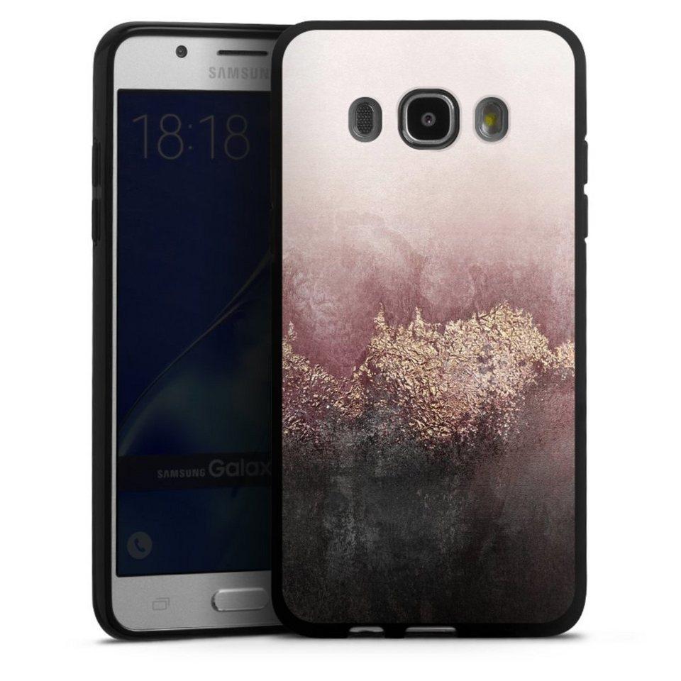 DeinDesign Handyhülle »Pink Sky Dust Glitter Look« Samsung ...