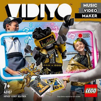 LEGO® Konstruktionsspielsteine »HipHop Robot BeatBox (43107), LEGO® VIDIYO™«, (73 St), appfähig durch die LEGO® VIDIYO™ App