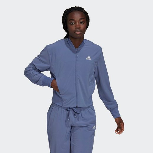 adidas Performance Trainingsanzug »AEROREADY Designed to Move Print Cropped Trainingsjacke«