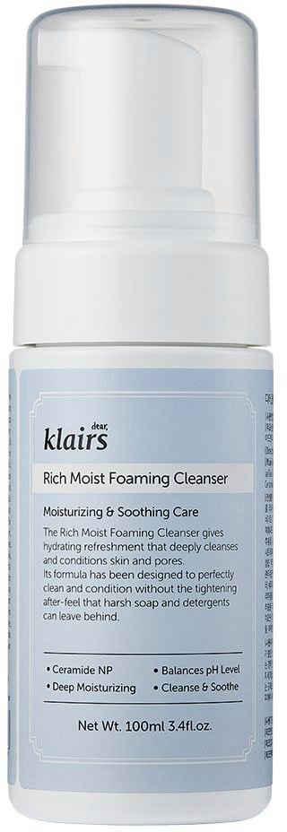 Dear Klairs Gesichts-Reinigungsschaum »Rich Moist Foaming Cleanser«