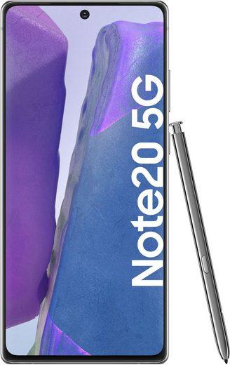 Samsung Galaxy Note20 5G Smartphone (16,95 cm/6,7 Zoll, 256 GB Speicherplatz, 64 MP Kamera)