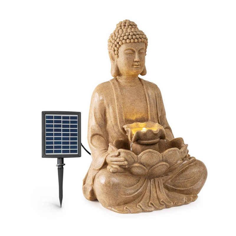 blumfeldt Wasserspiel »Dharma Solarbrunnen LED 48 x 72 x 41 cm (BxHxT) Polyresin«