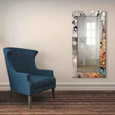 Artland Wandspiegel »Farbenfrohe Natur«, gerahmter Ganzkörperspiegel mit Motivrahmen, geeignet für kleinen, schmalen Flur, Flurspiegel, Mirror Spiegel gerahmt zum Aufhängen