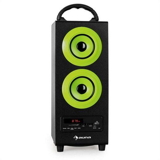 Auna Beachboy Bluetooth-Lautsprecher USB SD AUX UKW/MW grün Bluetooth-Speaker