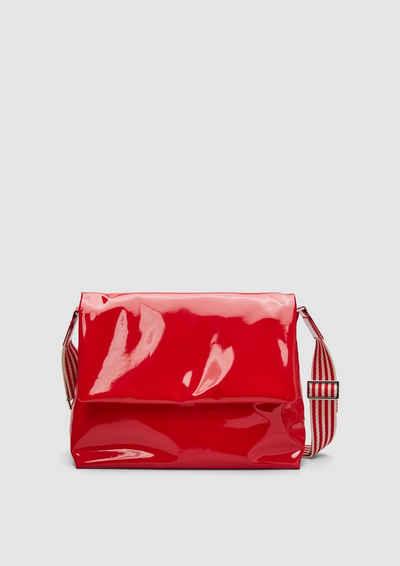 s.Oliver Tragetasche »City Bag in Lackleder-Optik«